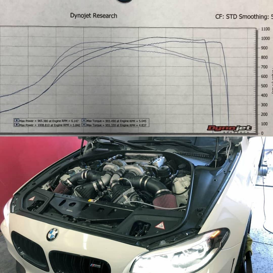 Pure Stage X F10 M5 does 1008whp and 955wtq | BMW M