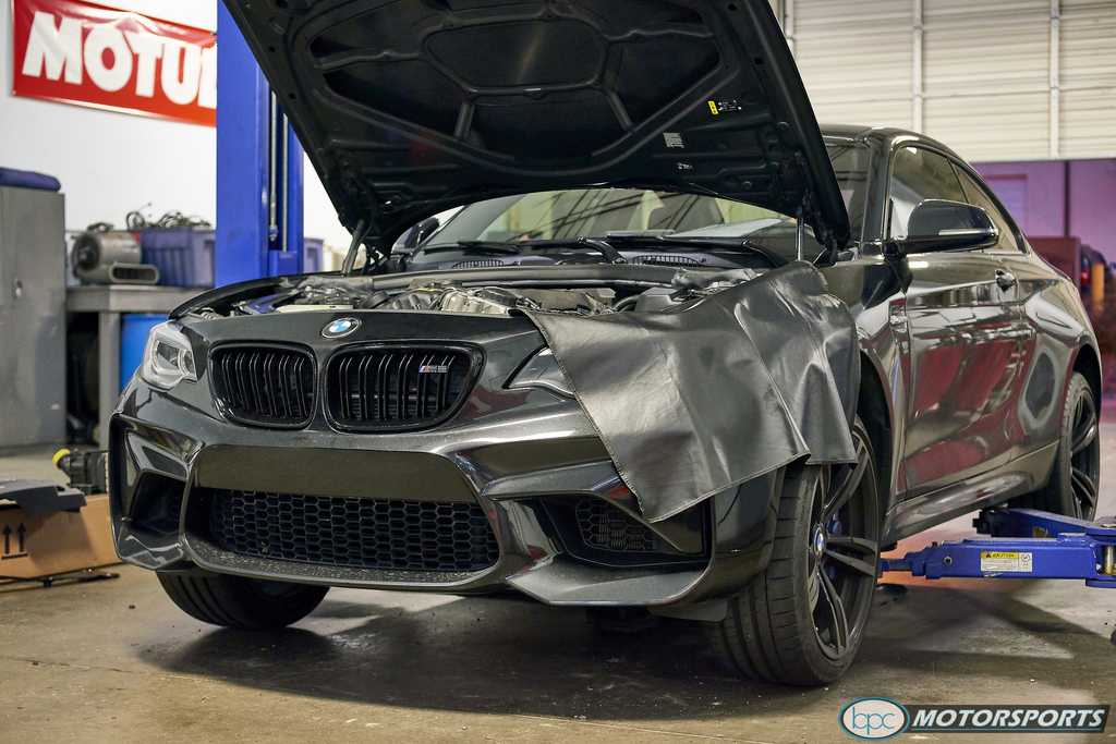 F8X - M2 Receiving Some Performance Mods from Bimmer