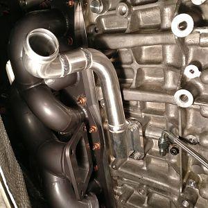 DIY - AD Engineering Single Turbo Install DIY | BMW Forums