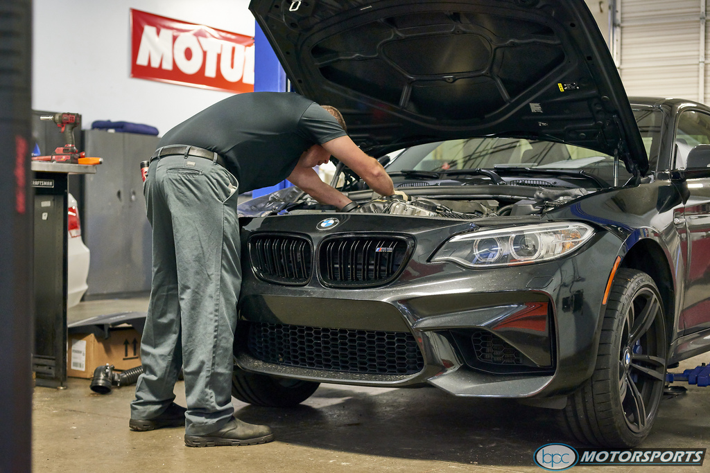 F8X - M2 Receiving Some Performance Mods from Bimmer Performance