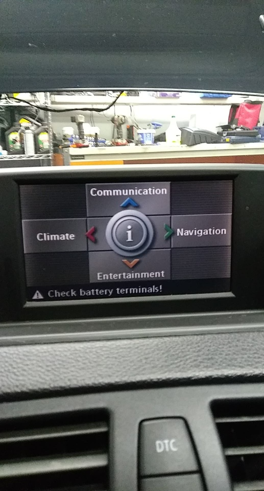 Technical Errors after errors with hunting idle BMW